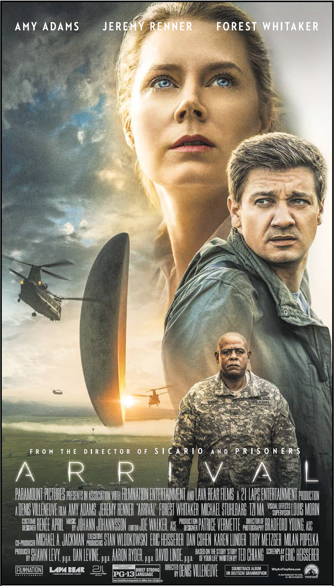 WIN A CHANCE TO SEE: ARRIVAL (Screening 11/7)